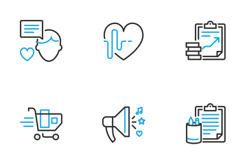 Dual Stroke Part Seven Icon Pack