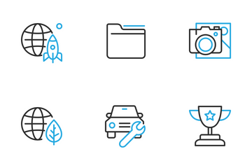 Dual Stroke Part Two Icon Pack