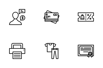 E-Commerce Icon Pack