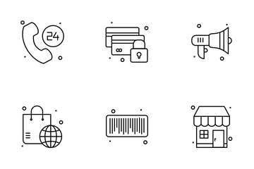 E- Commerce Icon Pack