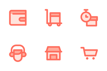 E Commerce Icon Pack