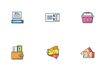 E-commerce And Shopping Icon Pack