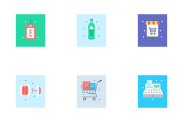 E Commerce And Shopping Icon Pack