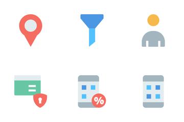 E-commerce Basic Icon Pack