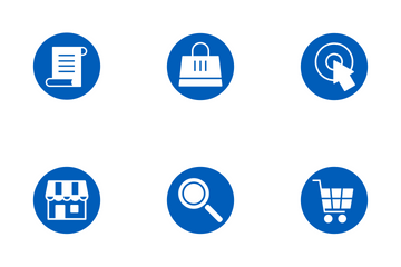 E-Commerce - Circle Icon Pack