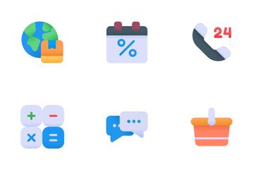 E Commerce Essential Icon Pack