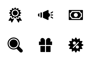 E-Commerce (Glyph) Icon Pack