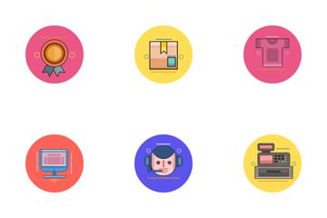 E-Commerce Icon Icon Pack