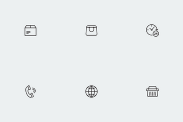 E-commerce Icons Icon Pack