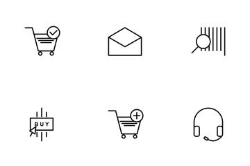 E Commerce Line Icon Pack