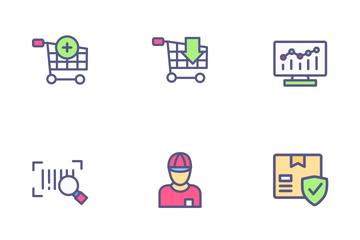 E-Commerce & Online Shop Icon Pack