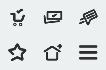E-Commerce - Outline Icon Pack