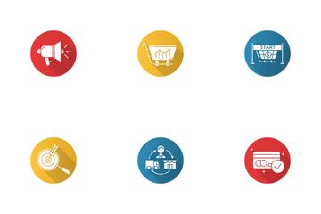 E Commerce Seller Icon Pack