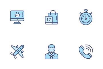 E Commerce Service Icon Pack