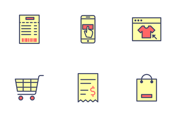 E Commerce Icon Set Icon Pack