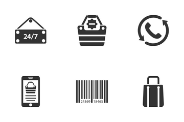E Commerce & Shopping Icon Pack