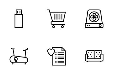 E-commerce Store Vol 3 Icon Pack