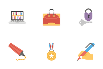 E-Learning 2 Icon Pack