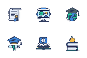 E Learning Icon Pack