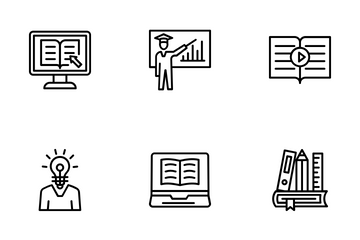 E-Learning Icon Pack