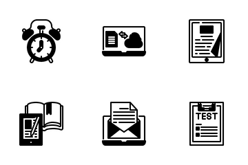 E Learning And Education Icon Pack