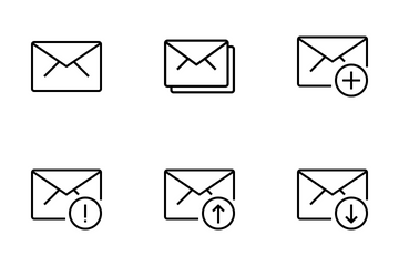 E-mail And Message Icon Pack