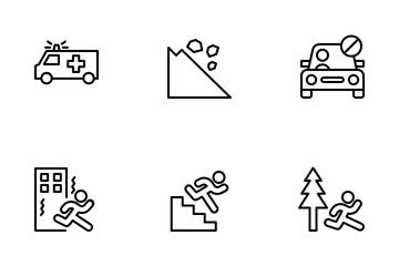 Earthquake Icon Pack