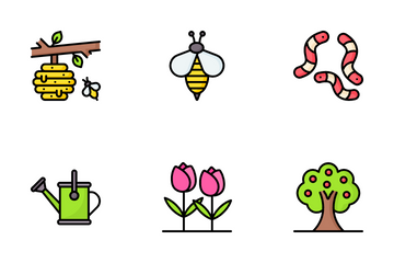 Easter And Spring Icon Pack