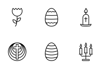 Easter Celebration Icon Pack