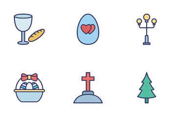 Easter Celebration Icon Pack