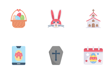 Easter Day Icon Pack