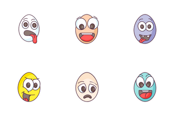 Easter Eggs Icon Pack