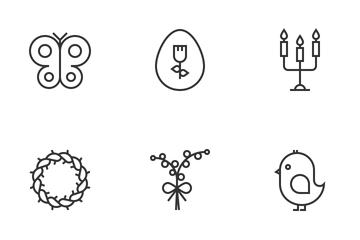 Easter Festival  Icon Pack
