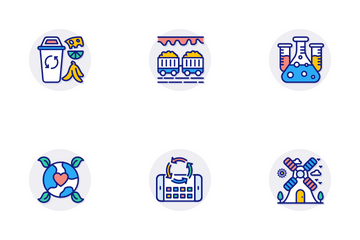 ECO And Bio Technology Icon Pack