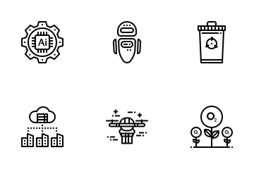 Eco And Innovation Icon Pack