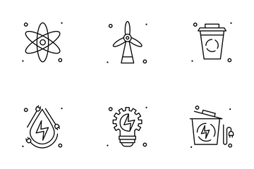 Eco Electricity Icon Pack