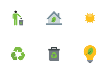 Eco Flat Icon Pack