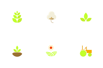 Eco Friendly Agriculture Icon Pack