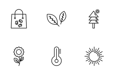 ECOLOGY AND ENVIRONMENT Icon Pack