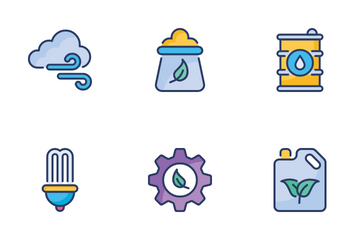 Ecology And Environmentalism Icon Pack