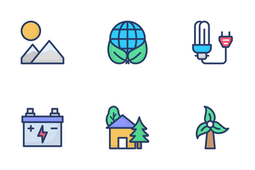 Ecology And Recycling Icon Pack