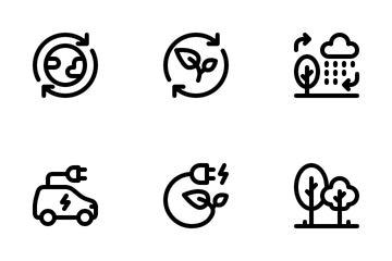 Ecology Eco Icon Pack