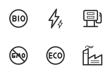 Ecology & Energy Icon Pack