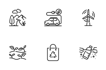 Ecology & Environment Icon Pack