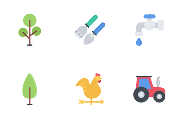 Ecology Flat Icon Pack