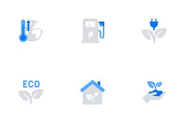 Ecology & Green Energy Icon Pack