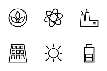 Ecology Vector Icons Icon Pack