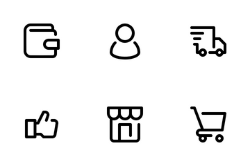 ECommerce I Icon Pack