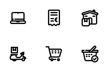 Ecommerce And Industry Icon Pack