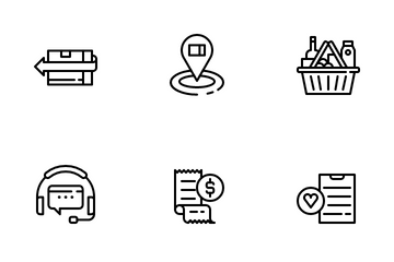 Ecommerce And Marketplace Icon Pack